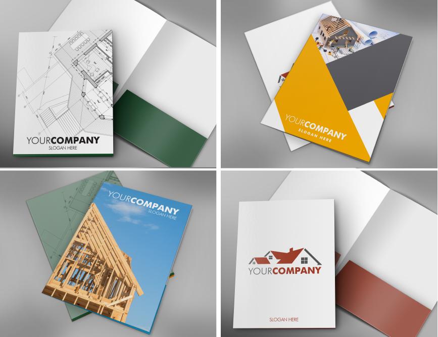 Construction Folder Templates