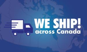 Free Shipping across Canada