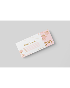Gift Card Sleeve