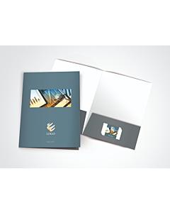 Soft Touch AQ Presentation Folders